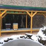 Bienenstand, Bodenbelag 13.06.26